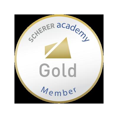 Sascha Zöller wurde mit dem Gold Award ausgezeichnet.